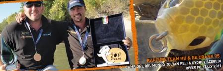 A 2011-es olaszországi Horgász Világjátékokon, a csónakos édesvízi pergetés kategóriában Péli Zoltán és Szegedi György egyéniben aranyérmes lett