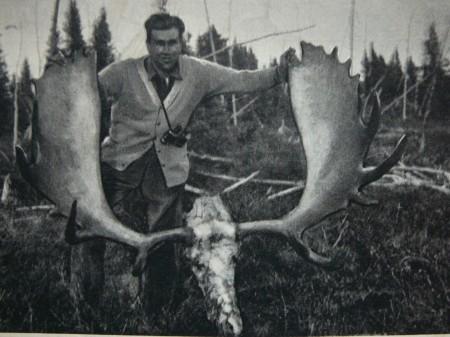 Széchenyi Zsigmond és második lapátosa