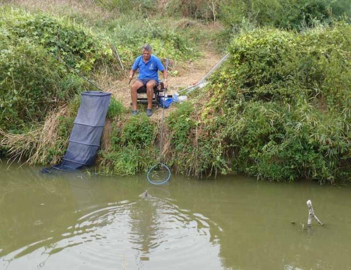 Jó és élvezetes horgászat kerekedett!