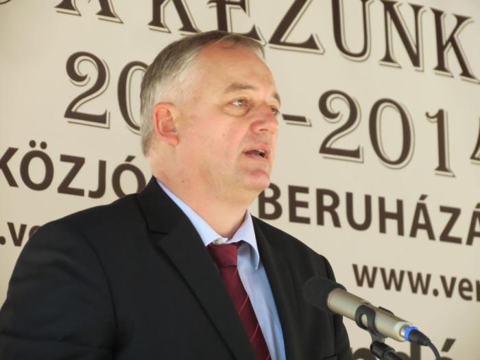 A megnyitón beszédet mondott Nagy András igazgató - Magyar Fejlesztési Bank Zrt. Agrár Vagyonkezelő Igazgatóságtól