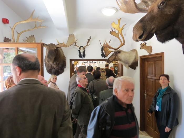 A Látogatóközpontot birtokba veszi a közönség