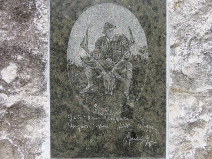 Gróf Széchenyi Zsigmond emléktáblája - 1