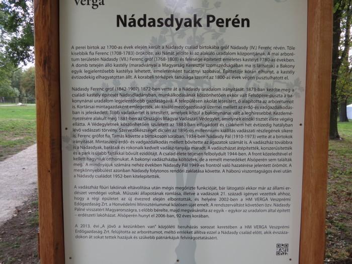 A Nádasdyak Perén - (érdemes elolvasni!)