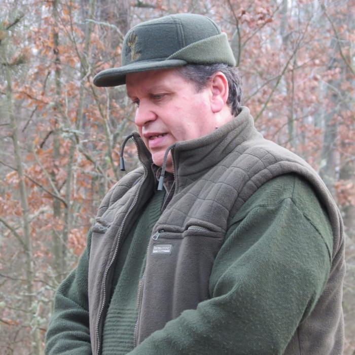 Horváth Ferenc mozdony- és idegenvezető mély szeretettel beszélt az erdőről